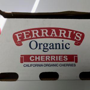 Organic cherry box
